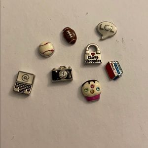 Origami Owl: hobbies and interests charms